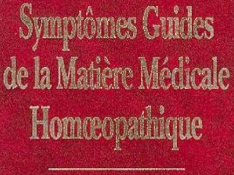 Guiding symptoms of our materia medica